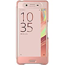 Sony Touch Cover SCR50 - Funda para móvil Xperia X, color rosa