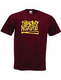 naughty by nature YELLOW hip hop gangstarr t shirt KRS 1 music rap tribe quest t shirt tee