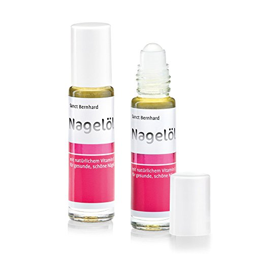 Sanct Bernhard Nagelöl mit Aprikosenkernöl, Avocadoöl und Macadamia-Nussöl (2x 10 Milliliter)