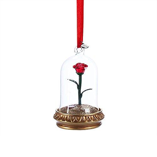 Disney Enchanted Rose Tricks Einband Ornament-Beauty und The Beast (Belle-schmuck Princess Disney)