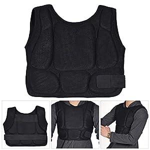 Fansport Brustschutz Gepolsterter Schutzbrustschutz Body Protector für Das Boxen