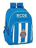 Safta Mochila Escolar R.C.D. Espanyol Oficial 320x150x420mm