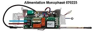 ensemble thermostat - electrique - mono kitable - 1200w - thermor 070225
