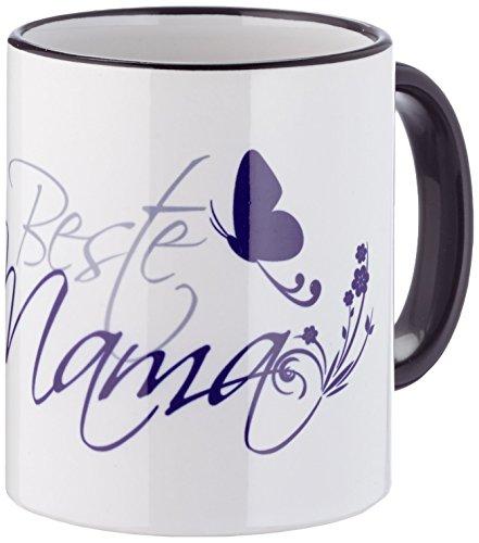 FunTasstic Tasse Beste Mama (geschwungen) Kaffee-Pott (T013)