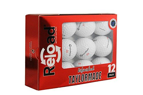 TaylorMade Project (a) Refinished Golf Balls (One Dozen) Packing May Vary by Unknown
