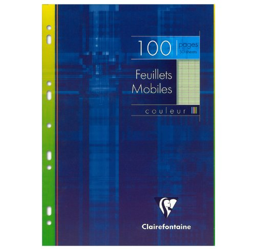 clairefontaine-feuillets-mobiles-vert-21-x-297-cm-100-pages