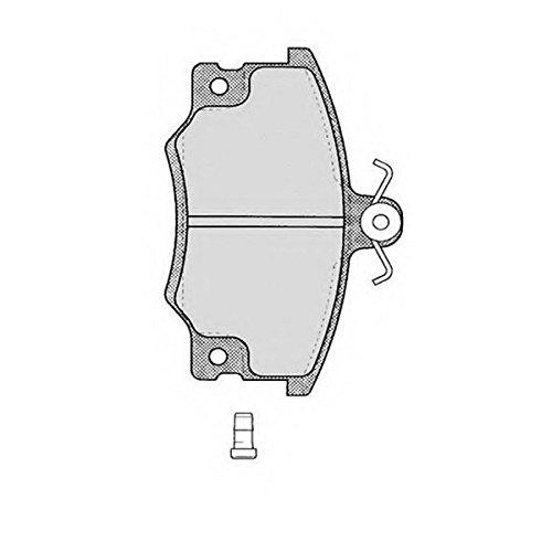 PE02221RB-4586 Kit pastiglie freno Anteriore Permafuse