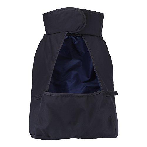 Zerodis Baby Kinderwagen Fuß Muff Windschutz Abdeckung Sleeping Nest Universal Warm Wasserdicht(Schwarz)