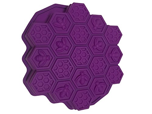 vzer 19Hohlraum, flexible Honeycomb Kuchen Formen für Kinder Silikon Backform Kuchen Schokolade Form Bakeware (Cake Pan Pop)