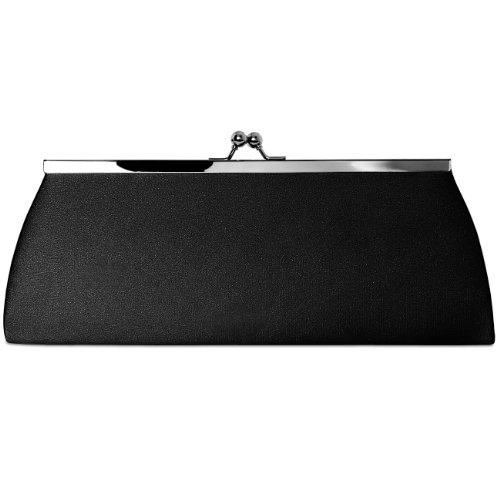 CASPAR Taschen & Accessoires, Poschette giorno donna (nero)