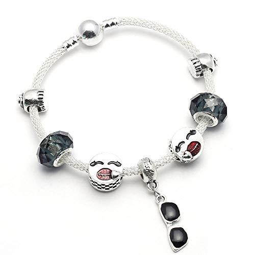 XZHYMJ Alloy SchwarzeSonnenbrille 21Cm Geschenk Für Paare Beste Wahl Für Armbänder