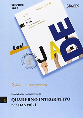 Das. Lehrwerk für Deutsch. Quaderno integrativo LiBES. Per le Scuole superiori: 1