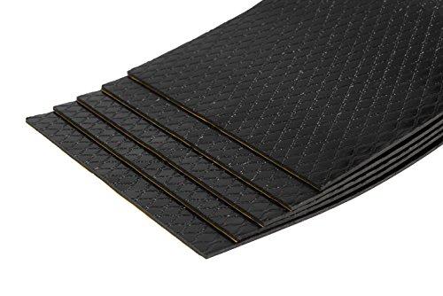 10 Stück Bitumenmatte, Antidröhnmatte, Dämmmatte Selbstklebend 500x200x2,8mm