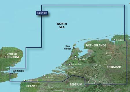 garmin seekarten Garmin HXEU018R - Benelux Offshore & Inland Waterways, 010-C0775-20 (& Inland Waterways)