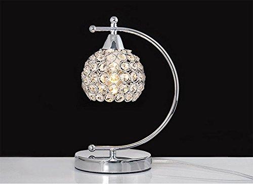 OOFAY LIGHT Moderne Style K9 Cristal Lampe De Bureau Creative Restaurant Salon Chambre Chevet Table Lampe 25 * 20 Cm