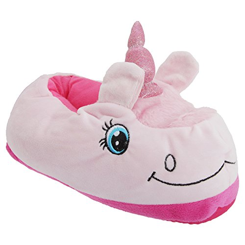 Chaussons style licorne - Femme Pourpre