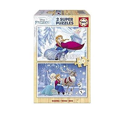 Disney Frozen - Puzzle de madera
