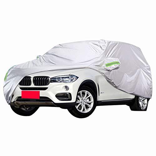 GYcover-Car Cover Autoabdeckung Kompatibel Mit BMW 3er 316i318i320i325i328i330i335i340i Autoabdeckung Spezieller Sonnenschutz Regendichter Hitzeschutz Sonnenschutz Autokleidung Autoabdeckung