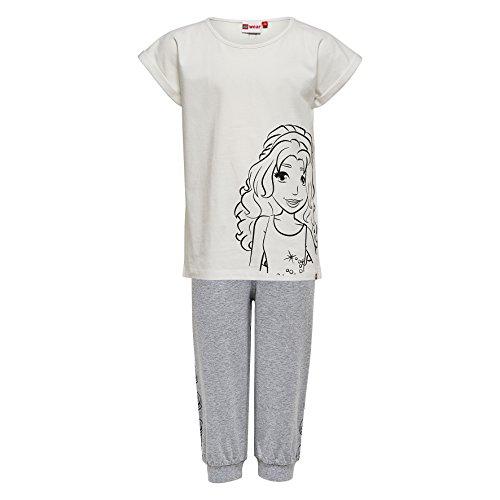 lego-wear-lego-friends-nevada-716-kurzer-schlafanzug-pijama-para-ninos-weiss-off-white-102-8-anos
