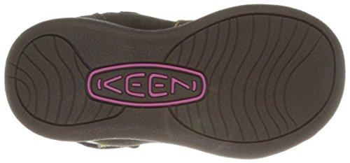 Keen PUNKY HIGH BOOT Bottes FILLE Marron - Black Olive/Schocking