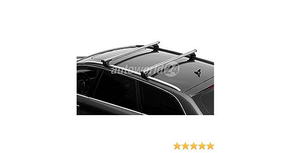 Dachträger Relingträger Aluminium Für Volvo V60 Baujahr 11 2010 08 2018 Mit Geschlossener Reling Auto