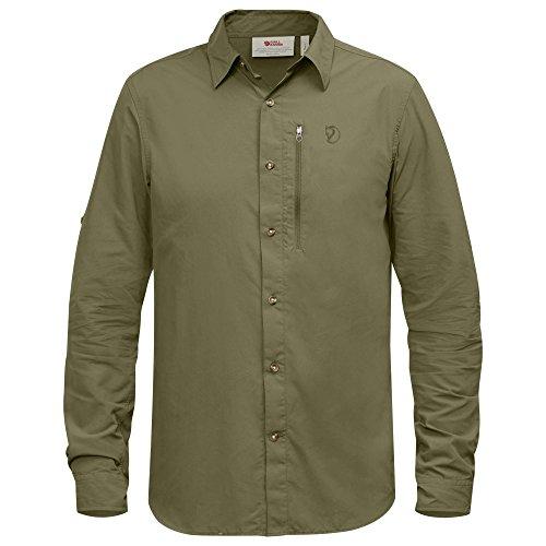 FJÄLLRÄVEN Herren Abisko Hike Langarm-Shirt, Savanna, L -