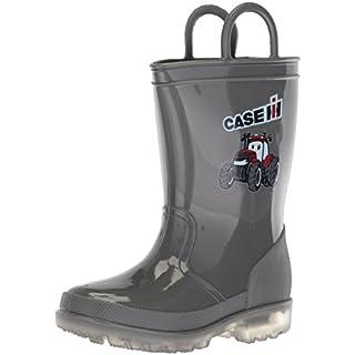 Adtec Baby CI-5010 Rain Boot, Grey, 9 Medium US Toddler
