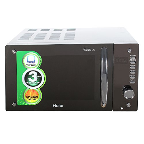 Haier 20 L Convection Microwave Oven (hil2080egc, Sliver)