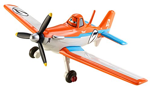Disney Planes Character Diecast Vehicle, Racing Dusty by Mattel