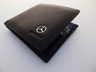 Mercedes genuine black leather money credit card holder for Mercedes benz credit