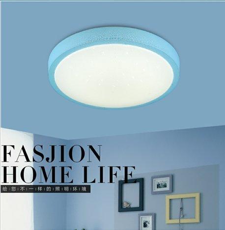 yxhflo Lampe de plafond LED lumière chaude chambres romantique moderne minimaliste circulaire les garçons et filles d