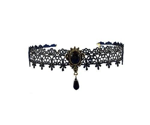 Gotisch spitzen Halskette charmant viktorianische schmuck Schwarz Tattoo choker