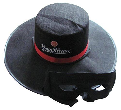 König Pilsener - Zorro Hut & (Hüte Zorro)