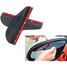 Protector deflector de viento y lluvia para espejo retrovisor ahumado Citroen Saxo C2 VTR VTS