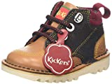Kickers Kick Hi Winterized, Stivali Bimbo, Marrone (Light Brown Brwn), 23 EU