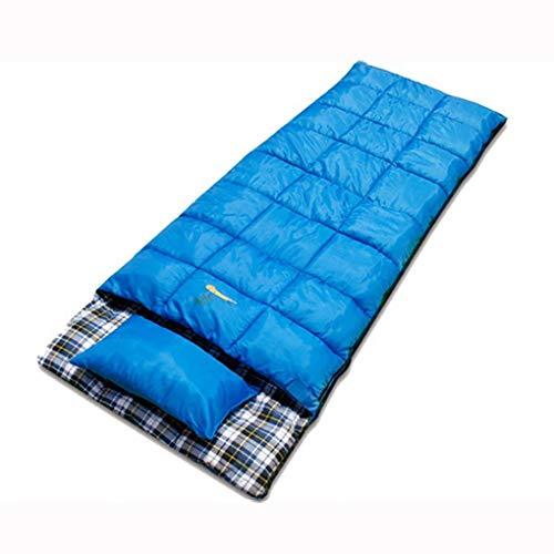 GOFEI Sacco A Pelo con Cuscino, (190 + 30) X75cm Comodo E Impermeabile Ideale per Il Campeggio Trekking attività All\'aperto