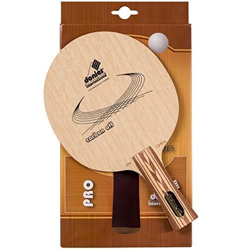 Donier Profi Tischtennis Schlägerholz Carbon Offensive   Ping Pong Schlägerhölzer   Hergestellt in der EU   7-Schicht Holz, Top Schnelligkeit, Kontrolle, Strategische Angriffe   Indoor & Outdoor