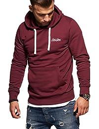 Jack   Jones Sweat à Capuche Homme Pullover Sweatshirt Basic Unicolore  Streetwear adfdf5c380d2