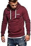 JACK & JONES Herren Hoodie Kapuzenpullover Sweatshirt Pullover Casual Streetwear (Large, Port Royale)