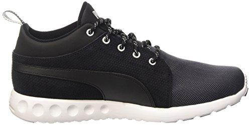 Puma Carson Mid Herring, Sneakers Hautes homme Gris - Grigio (eriscope/Black/White)