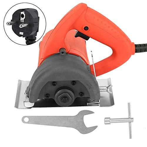 Elektrische Kreissäge, 1480W 110mm Klingenmetall Stein Holz Kunststoff Schneidemaschine 220V EU Stecker(EU plug)
