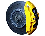 Foliatec 2161 Kit verniciatura pinze Freni giallo3 componenti, Giallo (Yellow Speed)