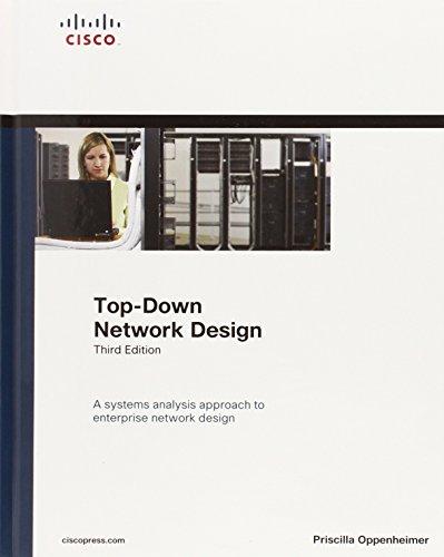 Oppenheimer: Top-Down Net Des _c3 (Networking Technology) por Priscilla Oppenheimer
