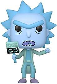 Funko- Pop Animation: Rick & Moty-Hologram Rick Clone Collectible Figure, Multicolor (44