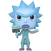 Funko- Pop Animation: Rick & Moty-Hologram Rick Clone Collectible Figure, Multicolor (44252)