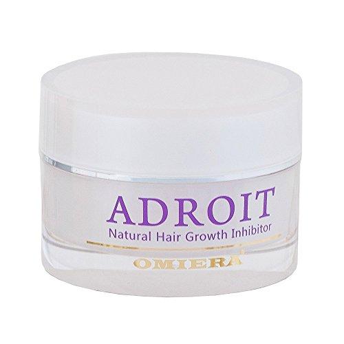 Omiera Labs Adroit – Naturl Haarwachstinhibitor. Minimieren Gesicht, Bikini, Und Körper Haaren ( 30 g)