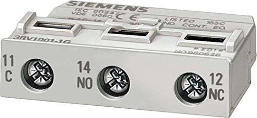 SIEMENS SIRIUS - BLOQUE CONTACTO AUXILIAR ELECTRONIC TAMAñO S0-S12