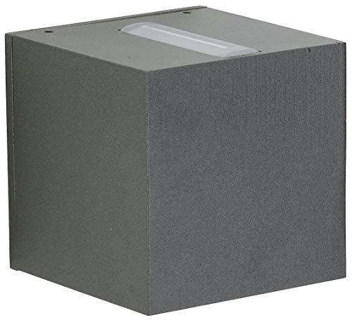 Albert 622371 außenwand Spot, aluminium, Integrated, noir