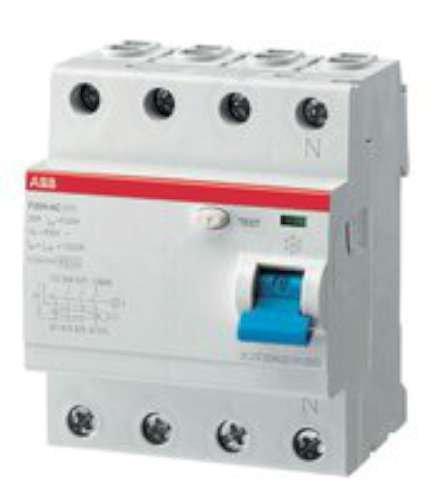 ABB-ENTRELEC F204AC-25/0 3 - DIFERENCIAL F204AC 25A 300MA