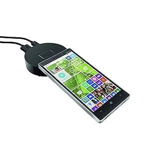 Nokia HD10NOIR Partageur d'écran avec socle détachable NFC/Miracast/HDMI Noir